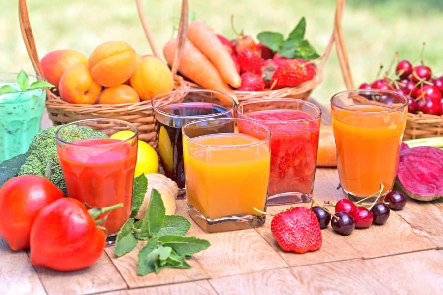 Điều gì xảy ra khi bệnh nhân tiểu đường uống nước ép trái cây và rau củ 5