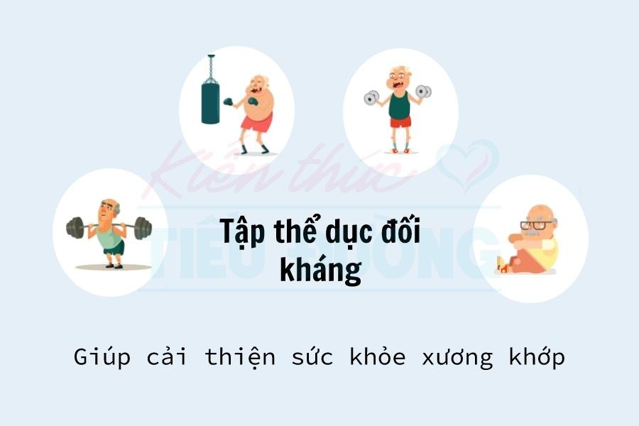 Bài tập thể dục giúp ngăn ngừa loãng xương và gãy xương ở bệnh nhân tiểu đường 4