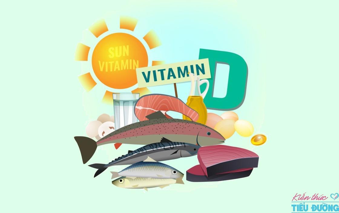 Hấp thu đủ vitamin D giúp tăng cường sức khỏe của xương và giảm nguy cơ mắc bệnh tiểu đường