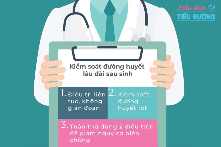 Người mẹ nên kiểm soát đường huyết sau sinh như thế nào? 2