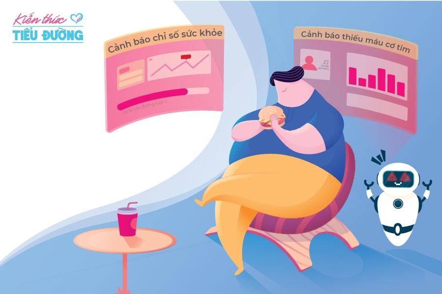 Ăn hai bát cơm mỗi ngày để giảm béo phì 1