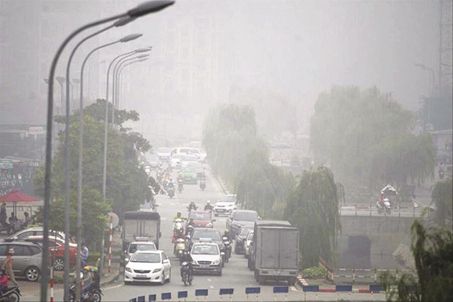 Hà Nội ô nhiễm nặng, không khí nằm ở ngưỡng đặc biệt nguy hiểm 2
