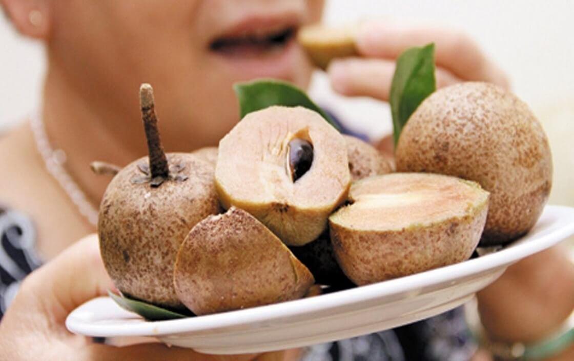 Người bị bệnh tiểu đường có ăn được hồng xiêm không?